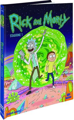 Rick and Morty - Stagione 1 (Collector's Edition, Digibook, Edizione Limitata, 2 DVD)