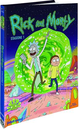 Rick & Morty - Stagione 1 (Collector's Edition, Digibook, Edizione Limitata, Blu-ray + 2 DVD)