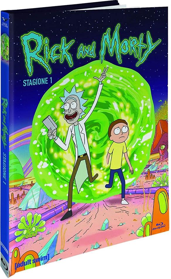 Rick & Morty - Stagione 1 (Collector's Edition, Digibook, Limited Edition, Blu-ray + 2 DVDs)