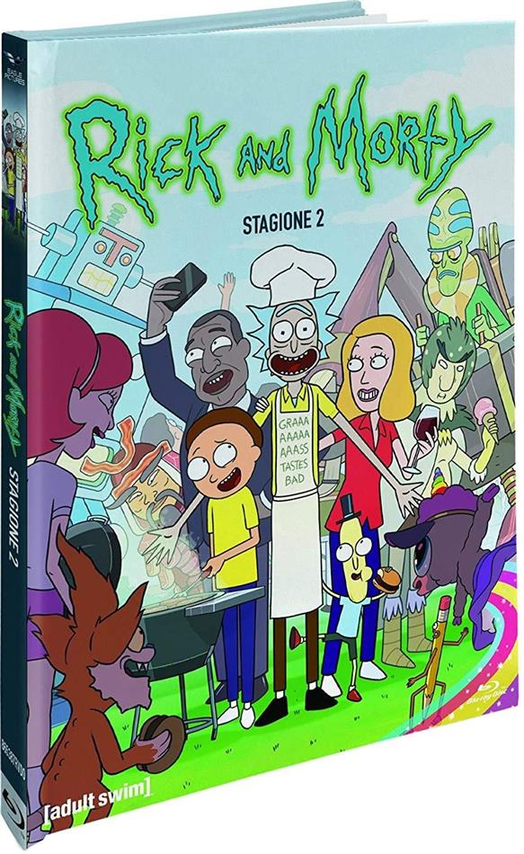 Rick & Morty - Stagione 2 (Collector's Edition, Digibook, Blu-ray + 2 DVD)