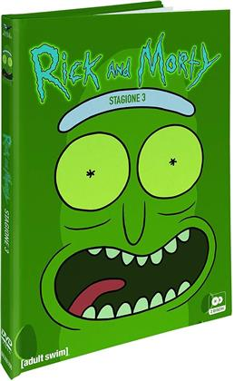 Rick & Morty - Stagione 3 (Collector's Edition, Digibook, 2 DVD)