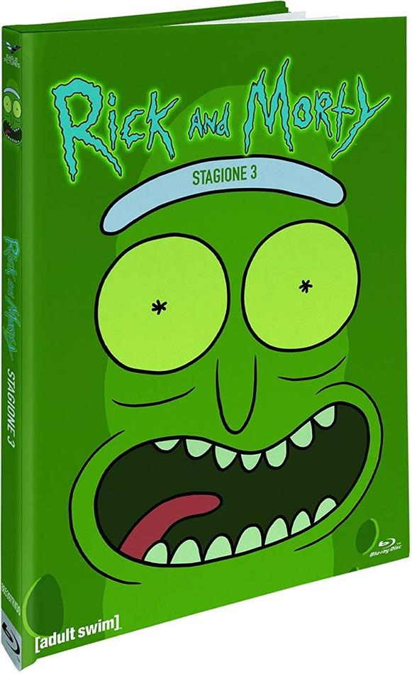 Rick & Morty - Stagione 3 (Collector's Edition, Digibook, Blu-ray + 2 DVD)