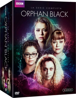 Orphan Black - La serie completa (BBC, 15 DVDs)