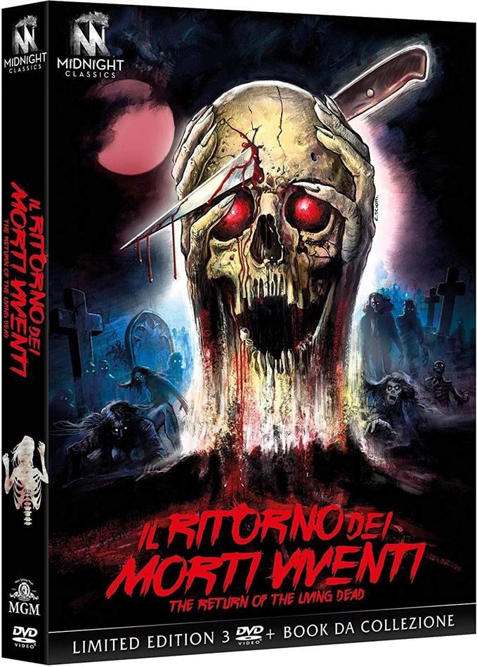 Il ritorno dei morti viventi (1985) (Limited Edition, Mediabook, 3 DVDs)