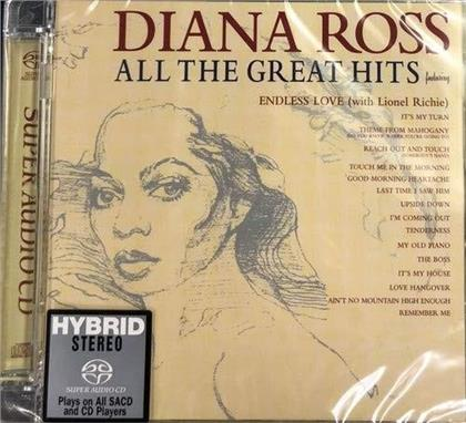 Diana Ross - All The Great Hits (Hybrid SACD)