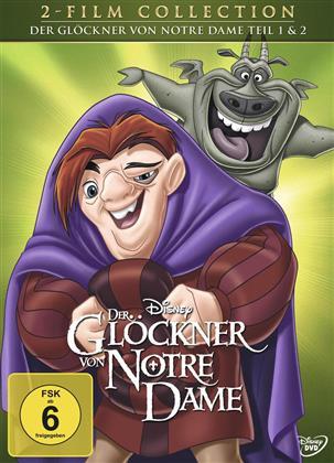 Der Glöckner von Notre Dame 1 & 2 (2 DVDs)