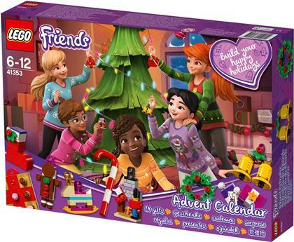 LEGO© 41353 Friends - Friends Adventskalender mit Weihnachtsschmuck