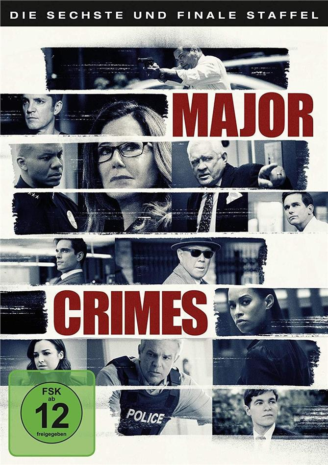 Major Crimes - Staffel 6 - Die finale Staffel (3 DVDs)