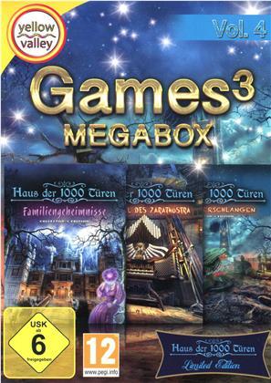 Games 3 Mega Box Vol. 4 (Édition Limitée)