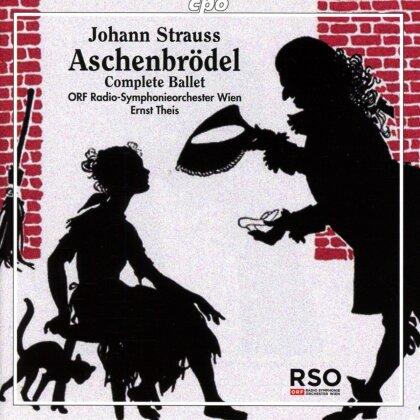 Johann Strauss, Ernst Theis & ORF Radio-Symphonieorchester Wien - Aschenbroedel - Complete Ballet (2 CDs)