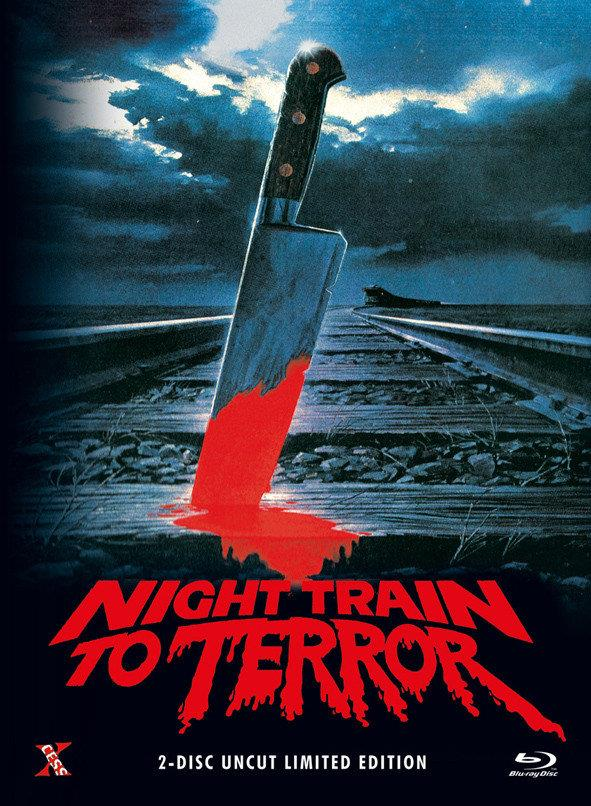 Night Train to Terror (1985) (Cover A, Limited Edition, Mediabook, Uncut, Blu-ray + DVD)