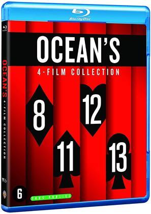Ocean's 4-Film Collection - Ocean's 8 / Ocean's 11 / Ocean's 12 / Ocean's 13 (4 Blu-rays)