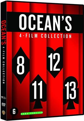Ocean's Collection - Ocean's 8 / Ocean's 11 / Ocean's 12 / Ocean's 13 (4 DVDs)