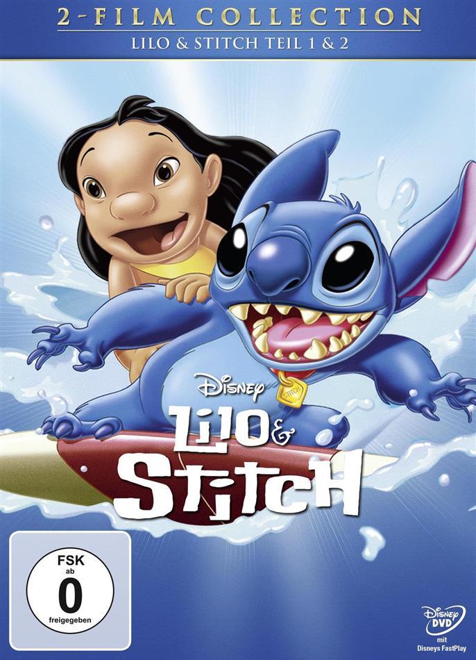 Lilo & Stitch 1 & 2 (2 DVDs)