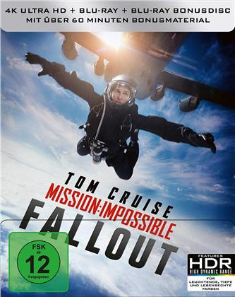 Mission Impossible 6 - Fallout (2018) (Limited Edition, Steelbook, 4K Ultra HD + Blu-ray)