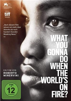 What You Gonna Do When the World's on Fire? (2018) (n/b)