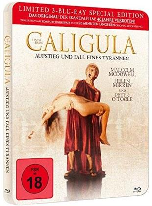 Caligula (1984) (Limited Edition, Steelbook, Uncut, 3 Blu-rays)