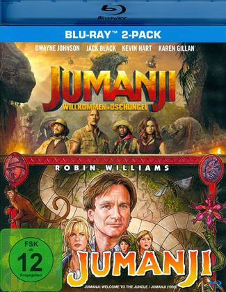 Jumanji / Jumanji - Willkommen im Dschungel (2 Blu-rays)