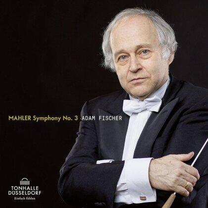 Düsseldorfer Symphoniker, Gustav Mahler (1860-1911) & Adam Fischer - Symphony No.3 (2 CDs)