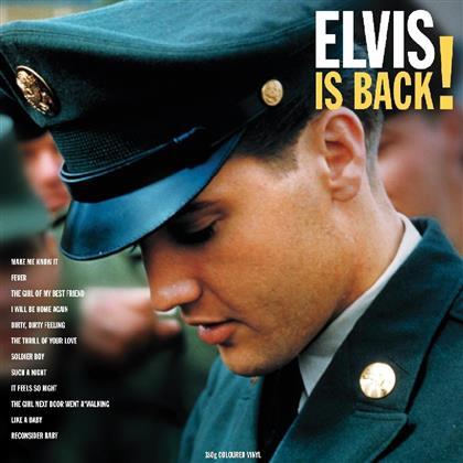 Elvis Presley - Elvis Is Back (2018 Reissue, LP)
