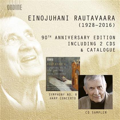 Einojuhani Rautavaara (*1928), Leif Segerstam & Helsinki Philharmonic Orchestra - 90Th Anniversary Edition (2 CDs)