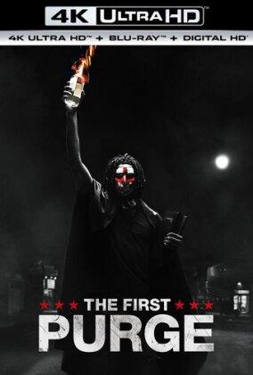 The First Purge (2018) (4K Ultra HD + Blu-ray)