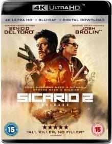 Sicario 2 - Soldado (2018) (4K Ultra HD + Blu-ray)