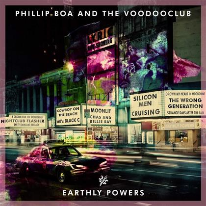 Phillip Boa & The Voodooclub - Earthly Powers (2 LPs)