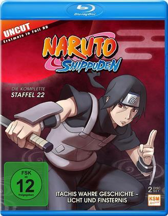 Naruto Shippuden - Staffel 22 (Uncut, 2 Blu-rays)