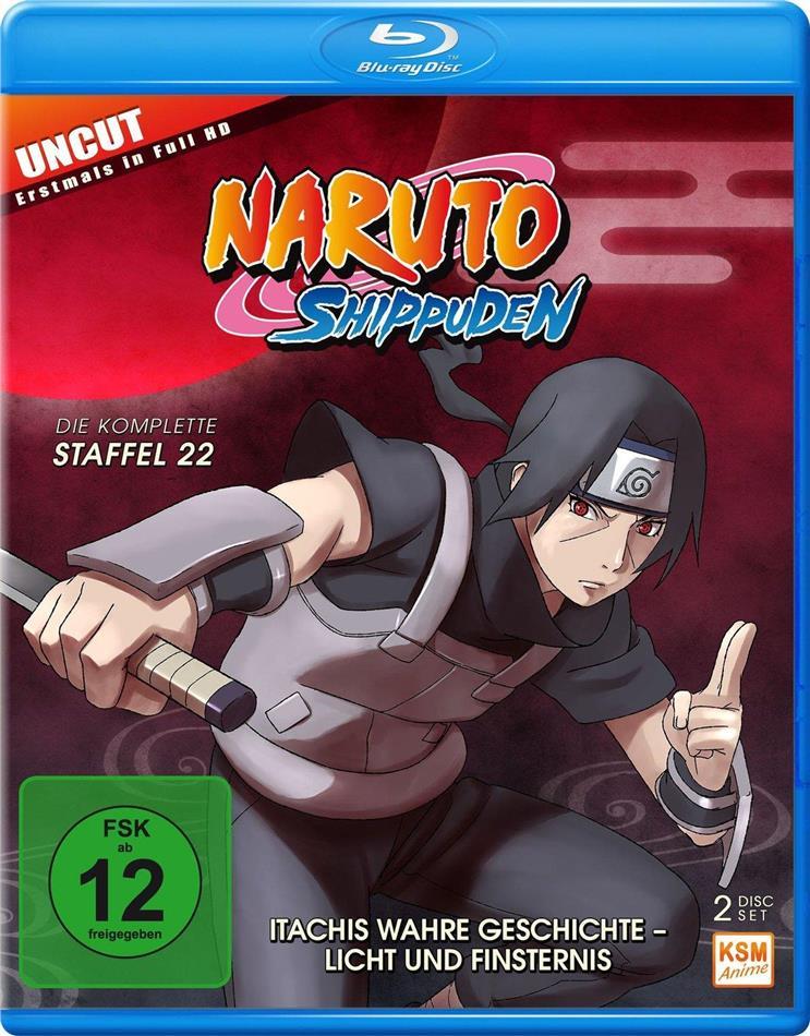 Naruto Shippuden - Staffel 22 (Uncut, 2 Blu-ray)