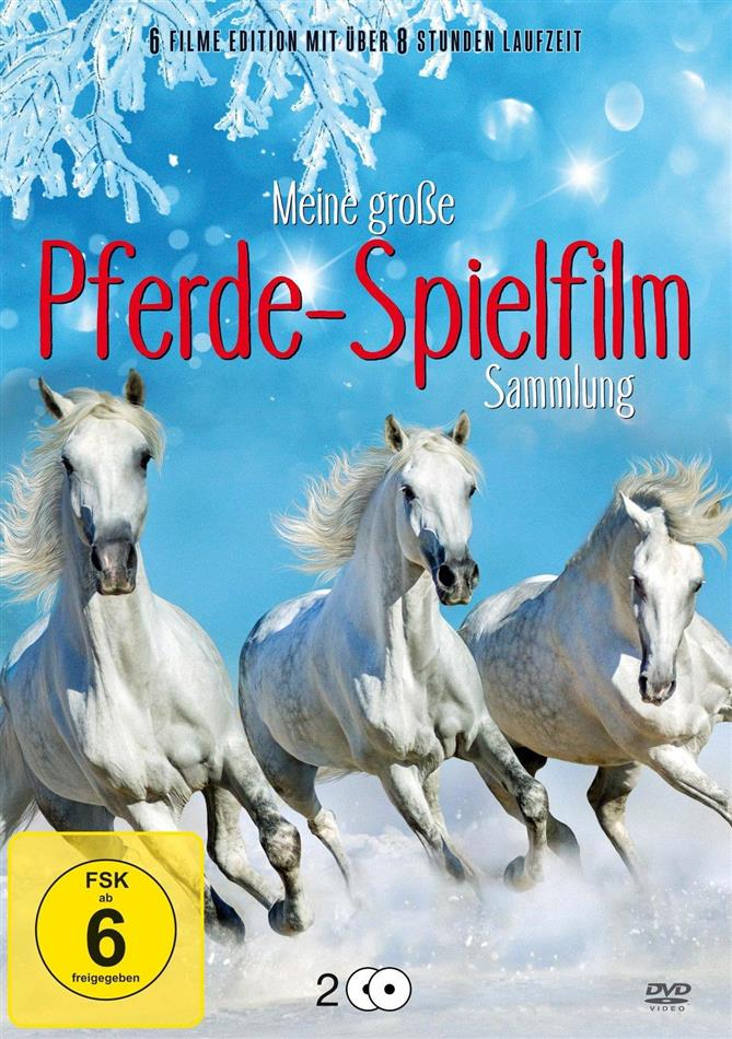 Meine grosse Pferde-Spielfilm Sammlung (2 DVDs)