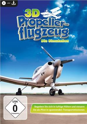 3D Propellerflugzeug - Die Simulation