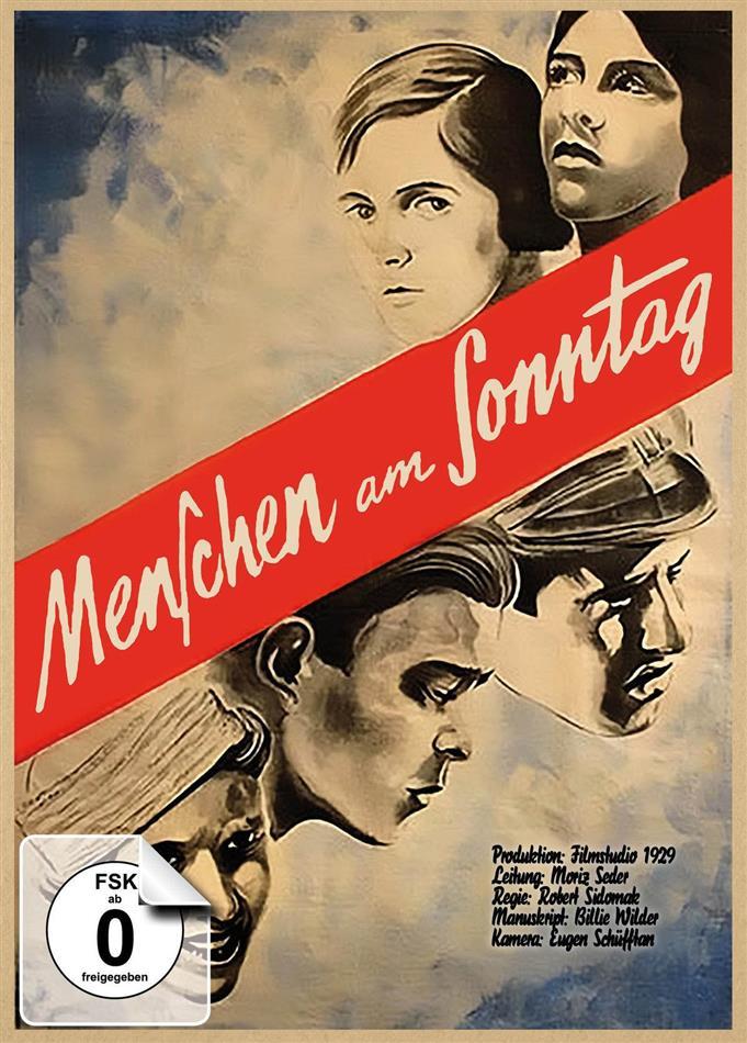 Menschen am Sonntag (1930) (Limited Edition, Mediabook, Restaurierte Fassung, Blu-ray + DVD)