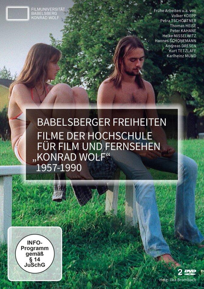 Babelsberger Freiheiten - Filme der Hochschule für Film und Fernsehen Konrad Wolf 1957-1990 (2 DVDs)