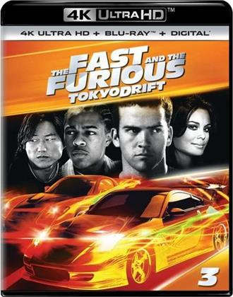 The Fast and The Furious - Tokyo Drift (2006) (4K Ultra HD + Blu-ray)