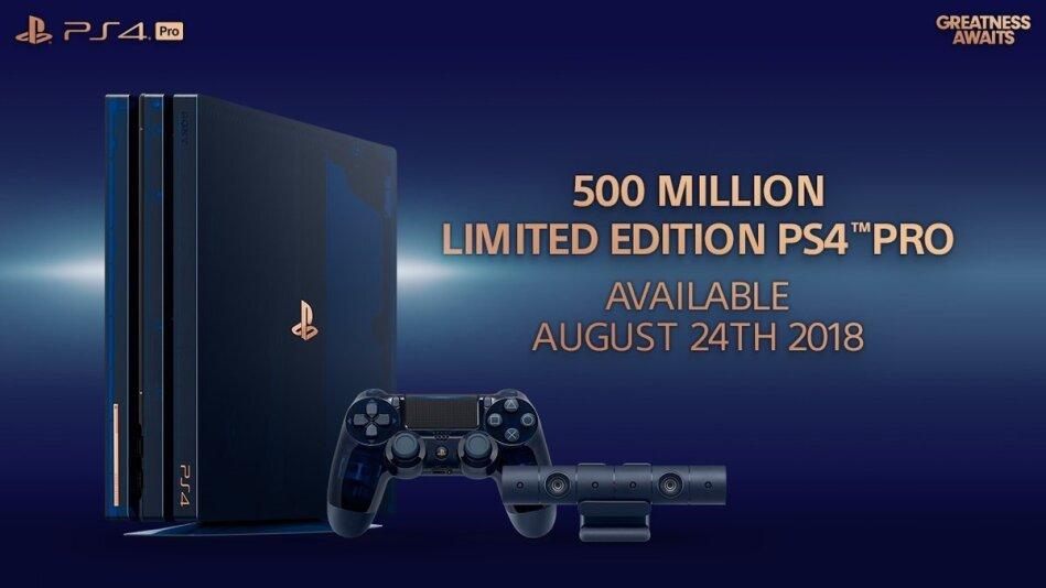 Sony Playstation 4 2TB PRO 500 Millionen (Limited Edition)