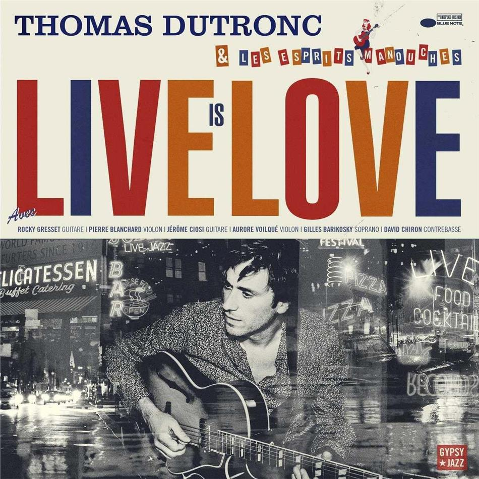 Thomas Dutronc - Live Is Love (2 LPs)