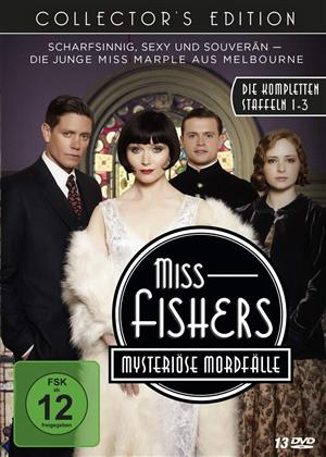 Miss Fishers mysteriöse Mordfälle - Die kompletten Staffeln 1-3 (Collector's Edition, 13 DVDs)