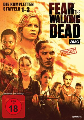 Fear the Walking Dead - Staffel 1-3 (Uncut, 10 DVDs)