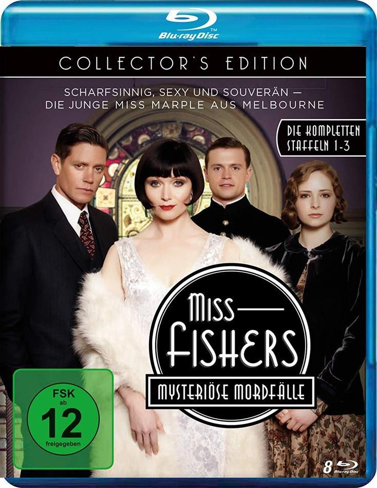 Miss Fishers mysteriöse Mordfälle - Die kompletten Staffeln 1-3 (Collector's Edition, 8 Blu-rays)