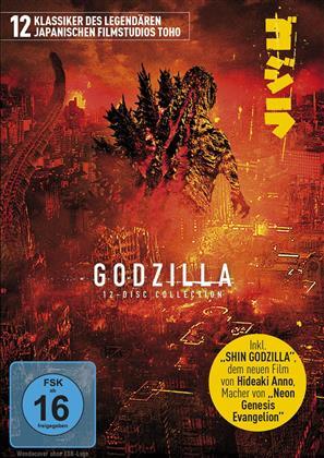 Godzilla (12 DVDs)