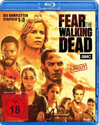 Fear the Walking Dead - Staffel 1-3 (Uncut, 10 Blu-rays)