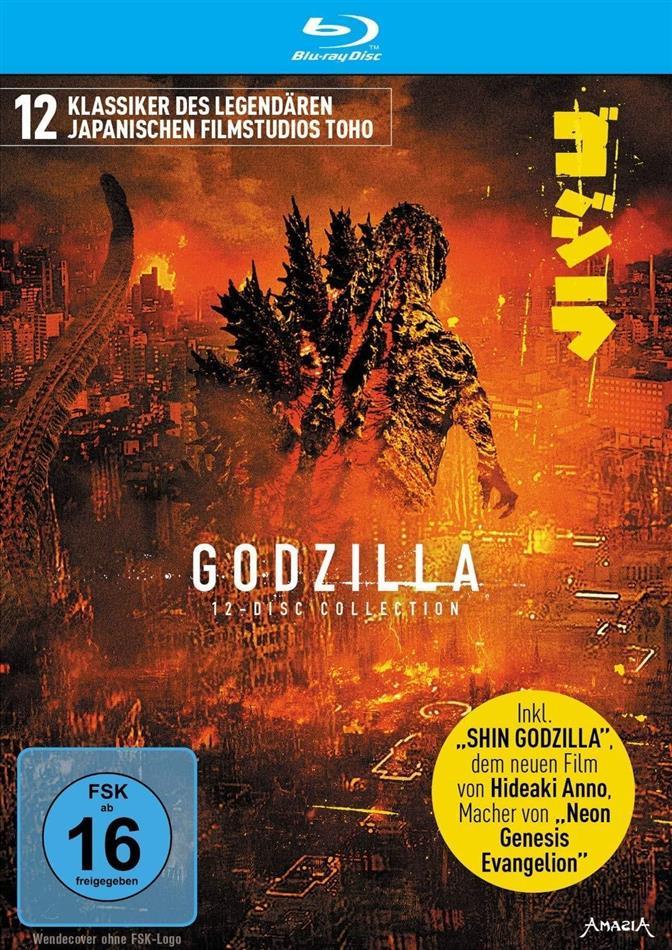 Godzilla (Limited Edition, 12 Blu-rays)
