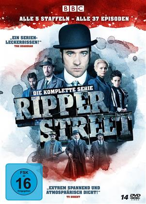 Ripper Street - Die komplette Serie (14 DVDs)