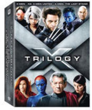 X-Men 1-3 - 3-Film Collection (3 4K Ultra HDs + 3 Blu-rays)