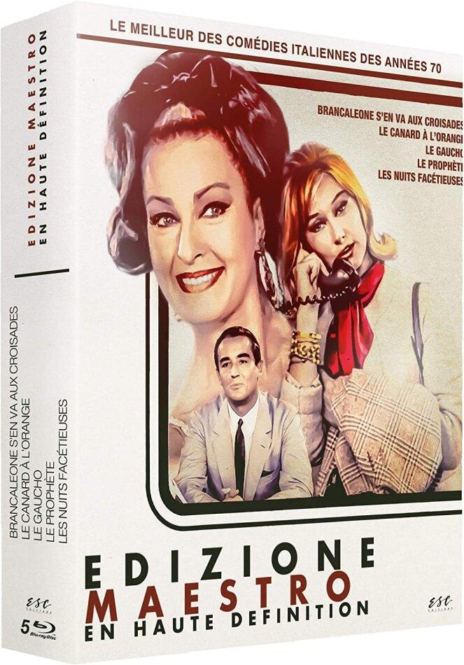 Edizion Maestro (5 Blu-rays)