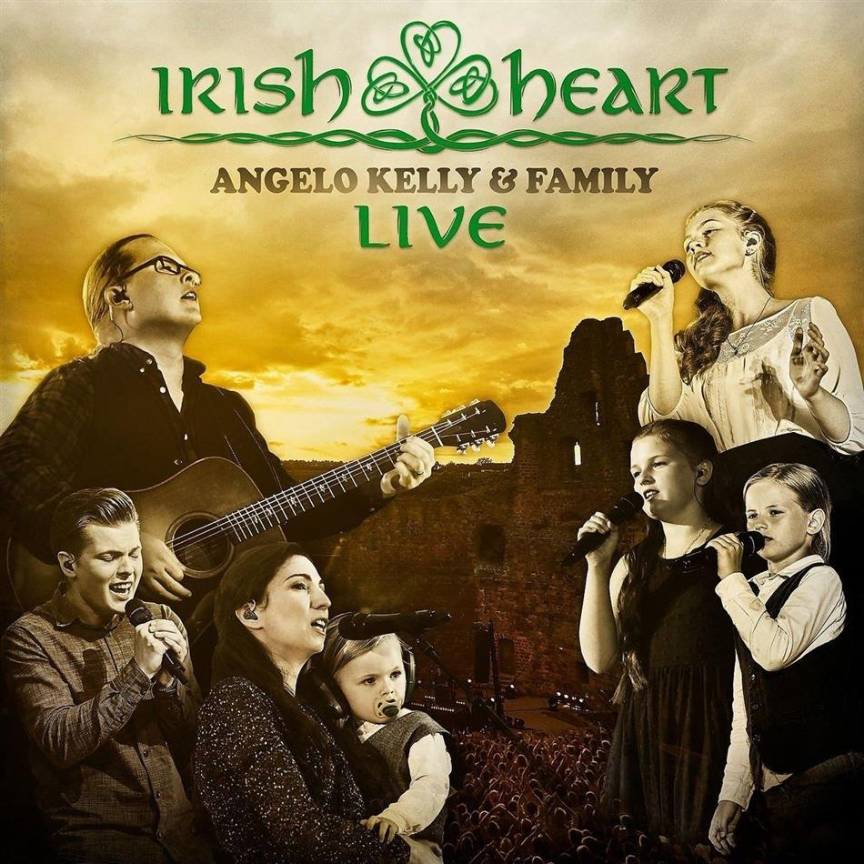 Kelly Angelo & Family - Irish Heart-Live (Deluxe Edition, CD + DVD)