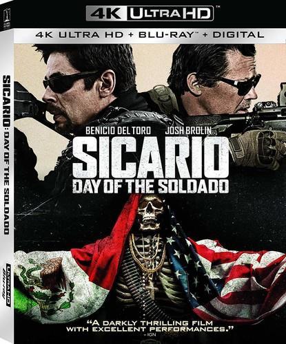 Sicario 2 - Day Of The Soldado (2018) (4K Ultra HD + Blu-ray)