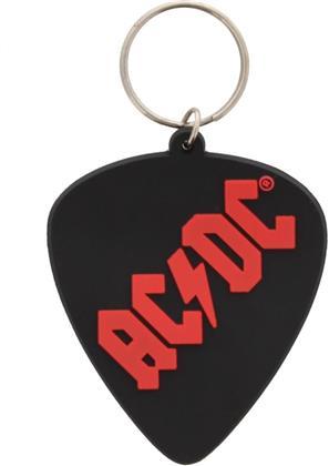 AC/DC Rubber Keychain