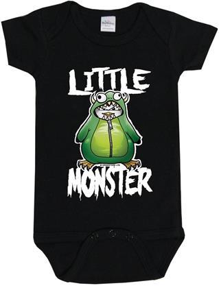 Psycho Penguin: Little Monster Baby Body - 6-12 Months - Taglia 68/74